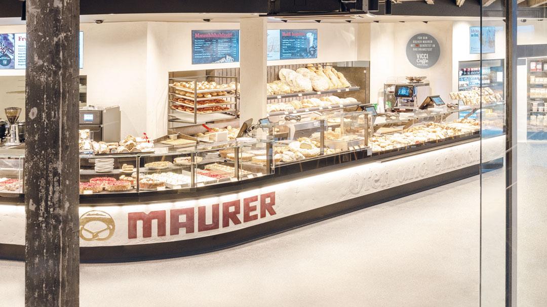 Maurer Bäckerei Cafe in Waiblingen