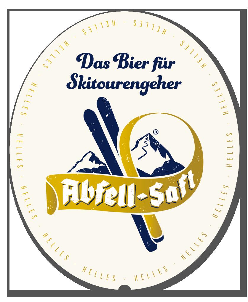 Abfell-Saft Etikett Vorderseite
