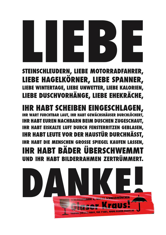 Glaser Kraus – Brief