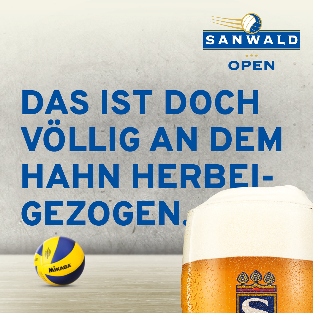 Sanwald Open - Instagram Post