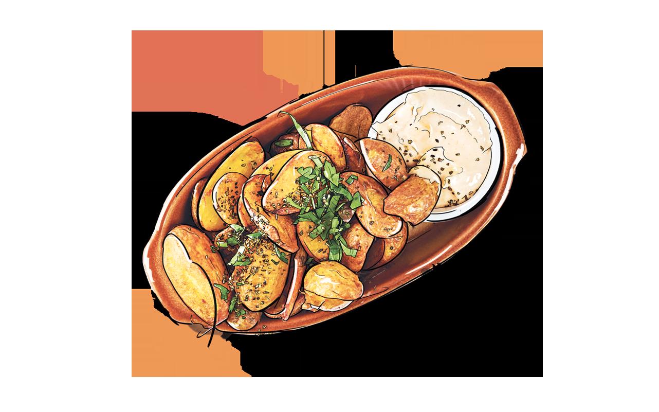 Meze Meze Wilde Kartoffeln