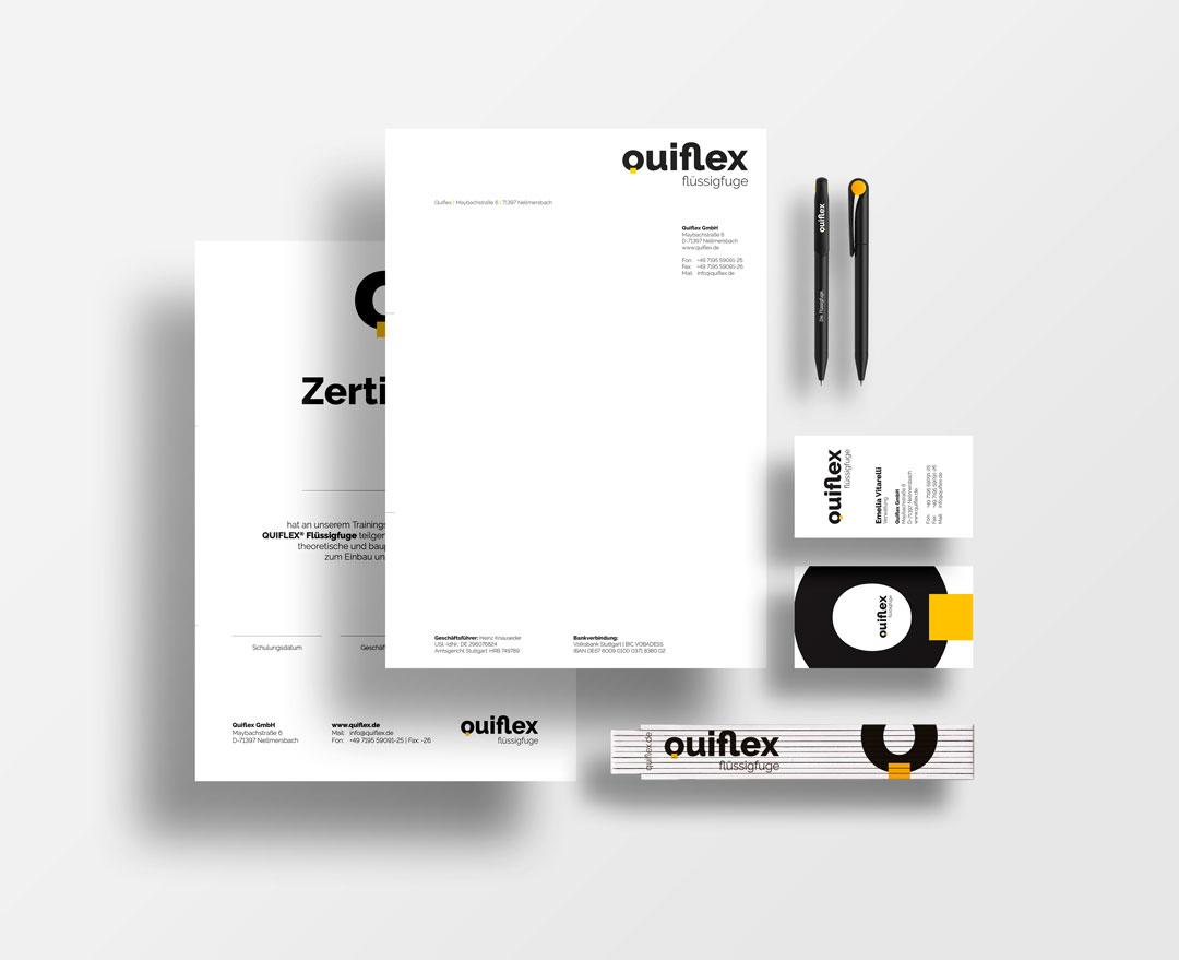 Quiflex Geschäftsausstattung