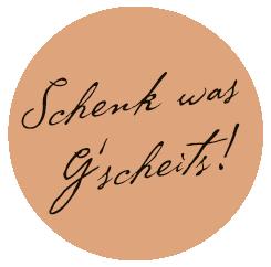 Schenk was Gscheits!
