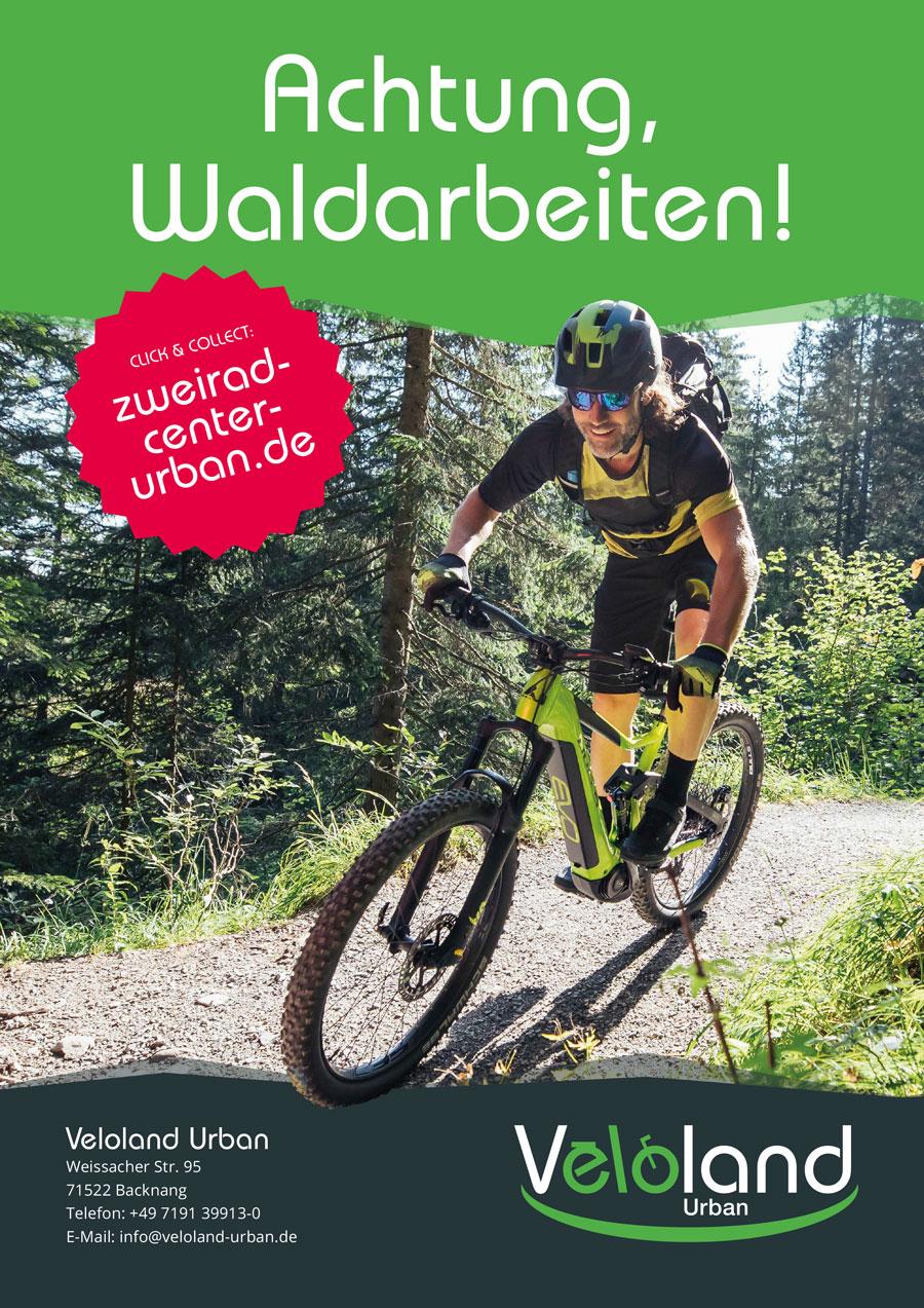 Veloland Anzeige