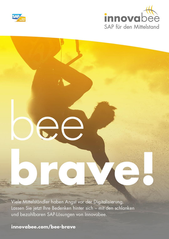 Innovabee Plakat – bee brave