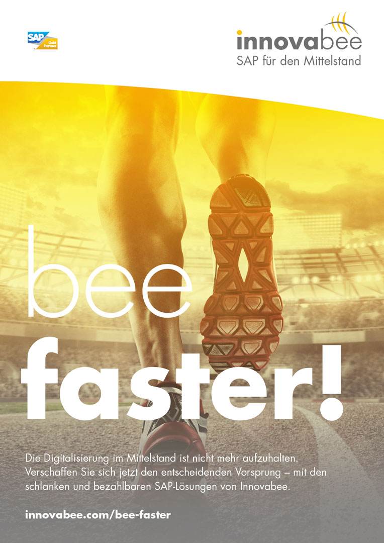Innovabee Plakat – bee faster