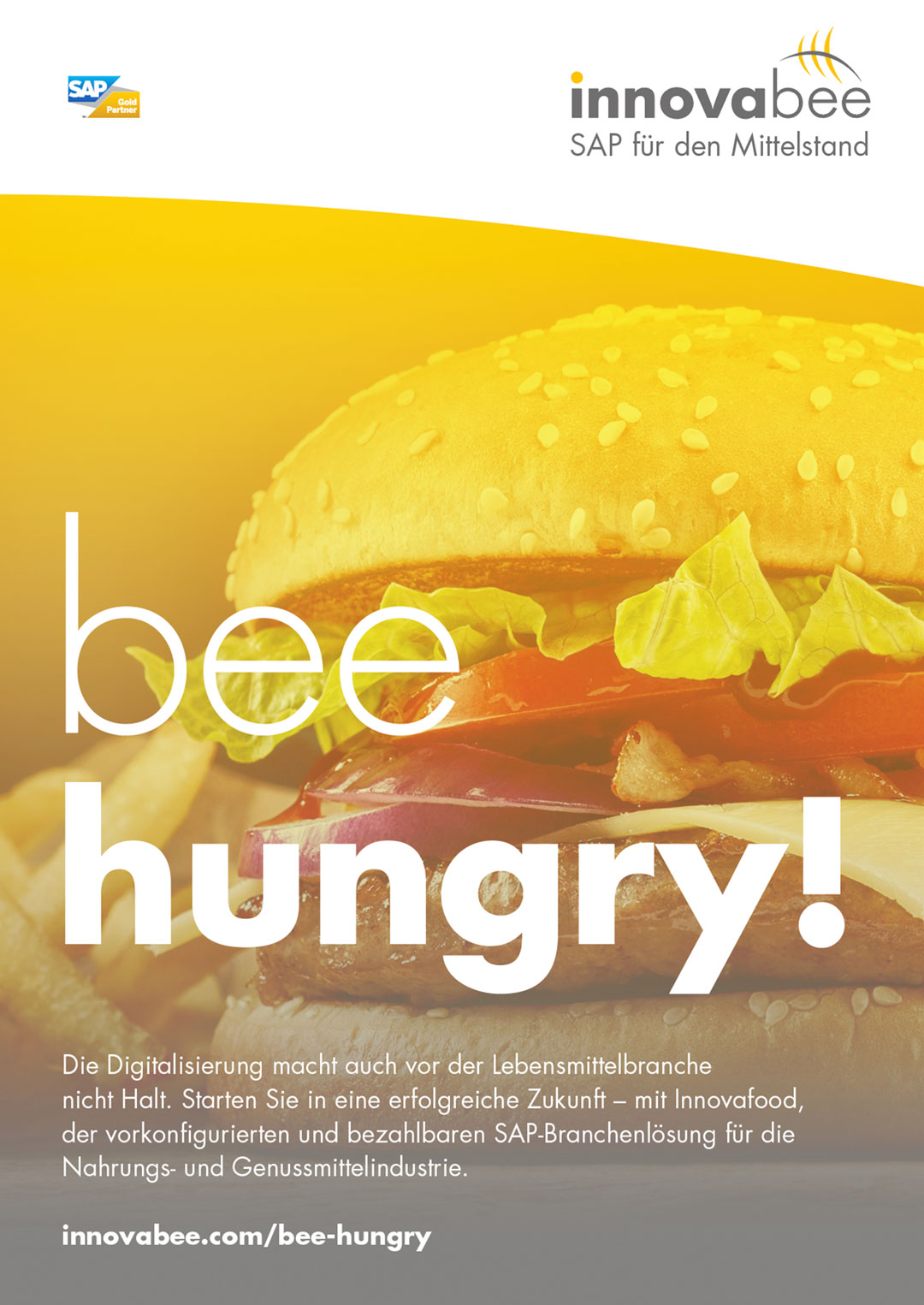 Innovabee Plakat – bee hungry