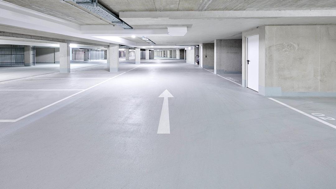 P&K Flooringgroup – Kunstharz Beschichtung Parkhaus