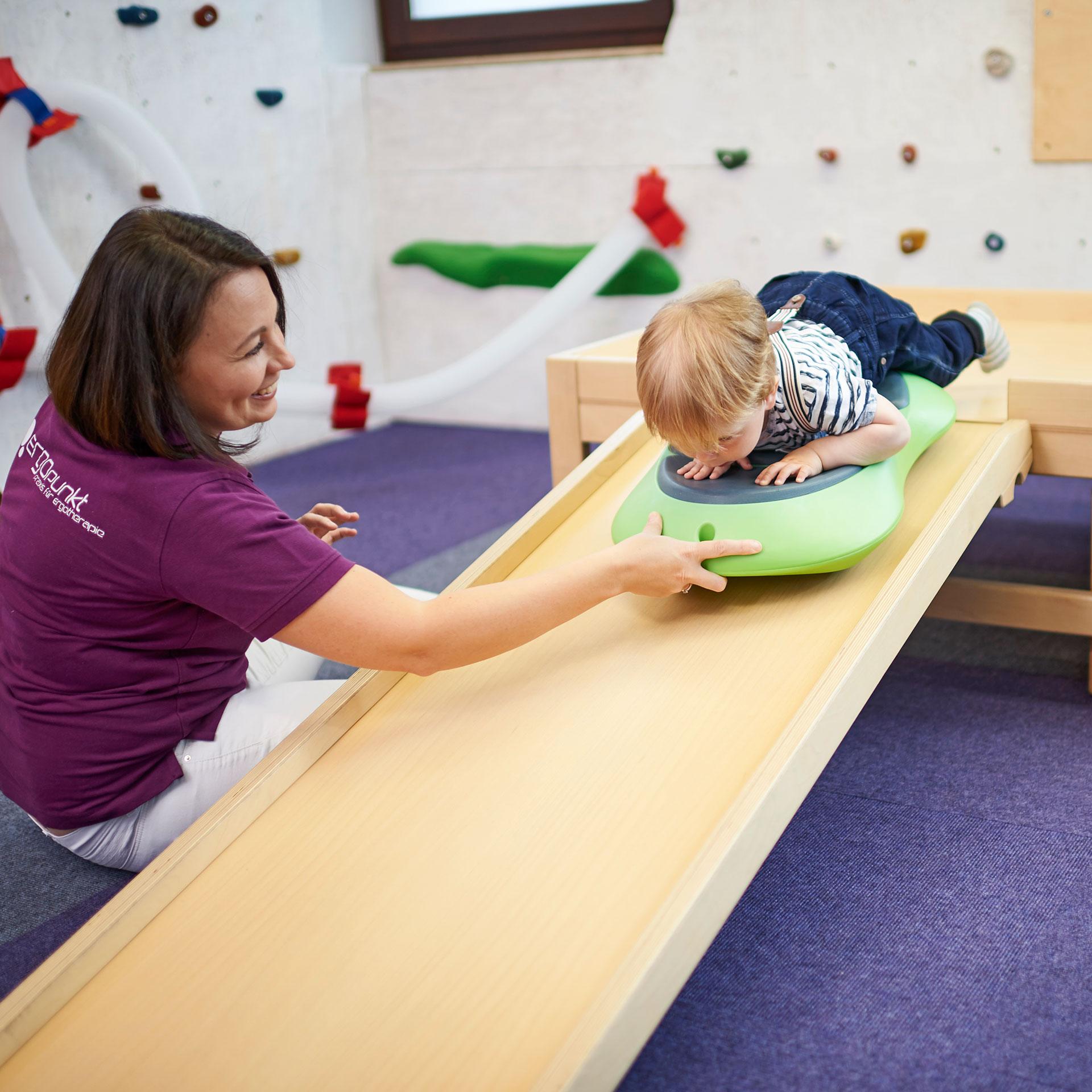ErgoPunkt Praxis – Pädiatrische Behandlung