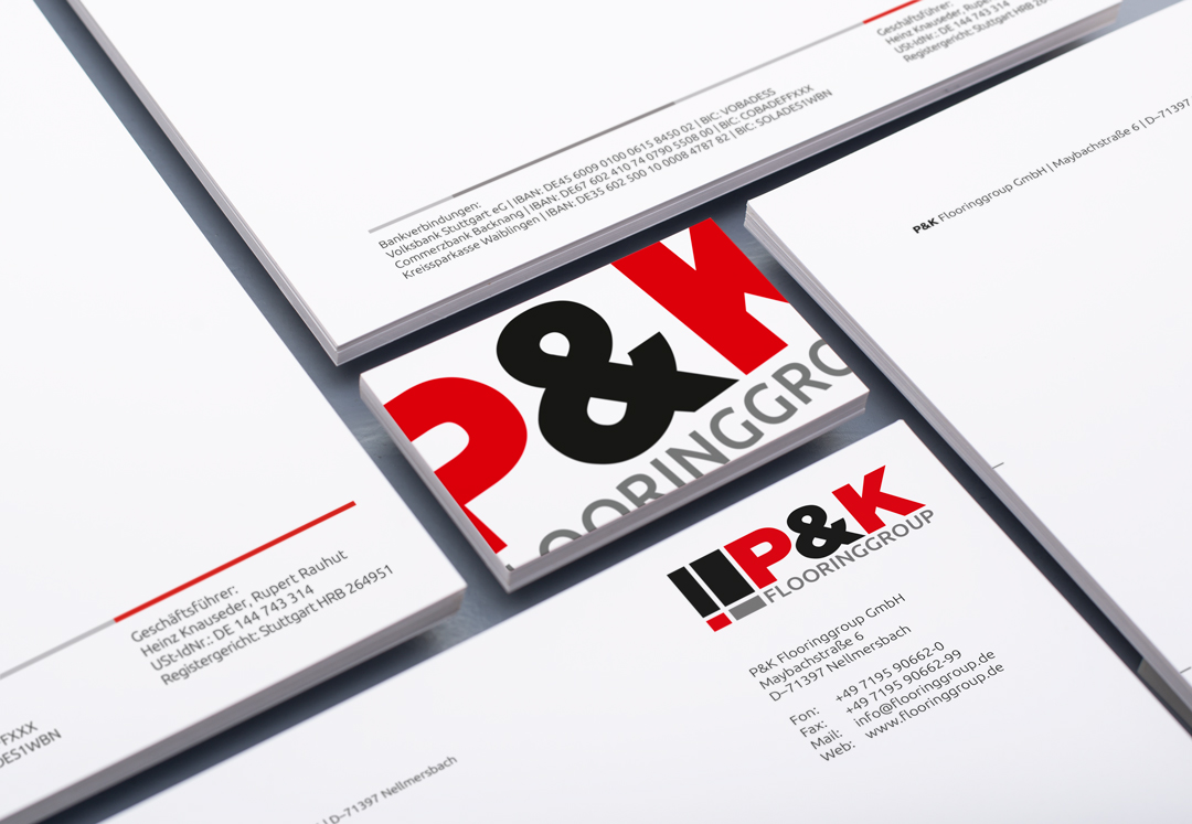 P&K Flooringgroup Geschäftsausstattung