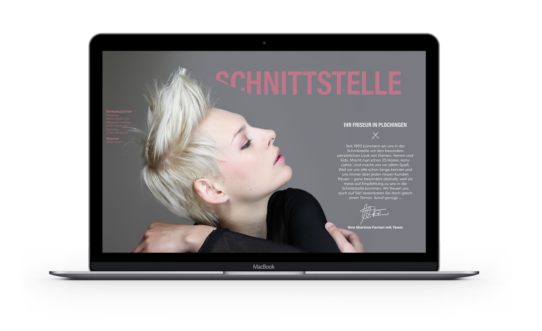 Website von Schnittstelle Plochingen