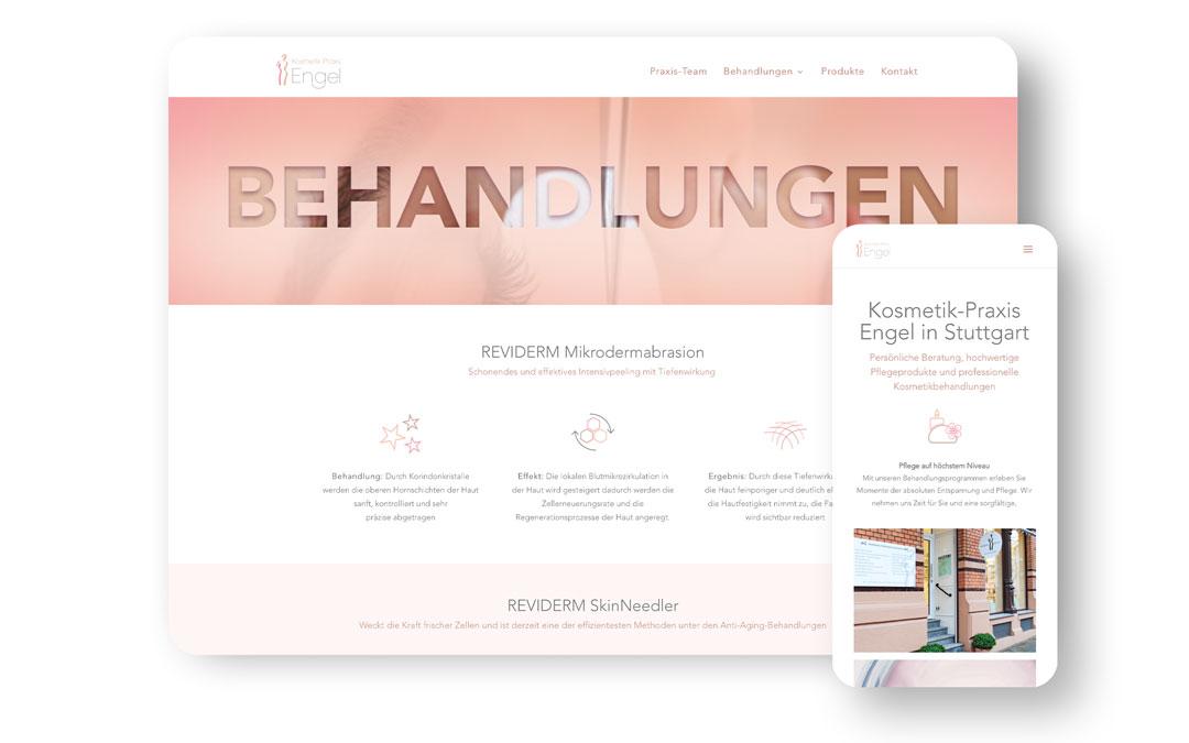 Kosmetik Praxis Engel Website